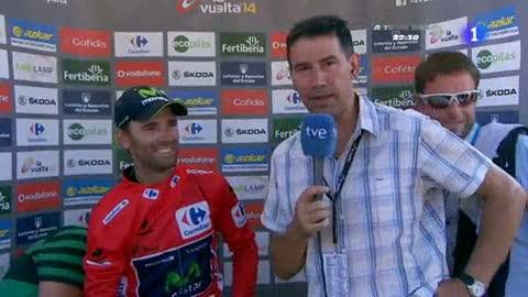 """Valverde: """"Sabía que Contador iba a estar ahí"""""""