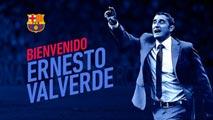 Valverde se convierte en nuevo entrenador del FC Barcelona
