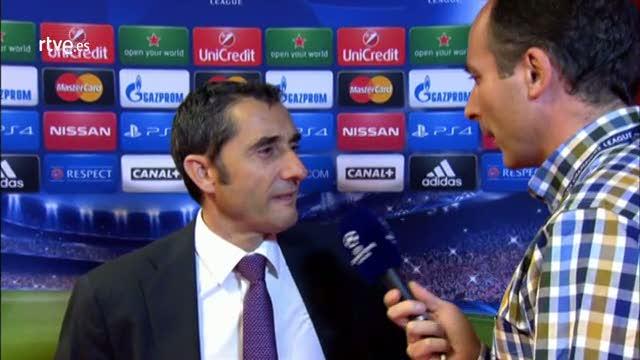"Valverde: ""Ha  sido un palo duro caer tan pronto"""