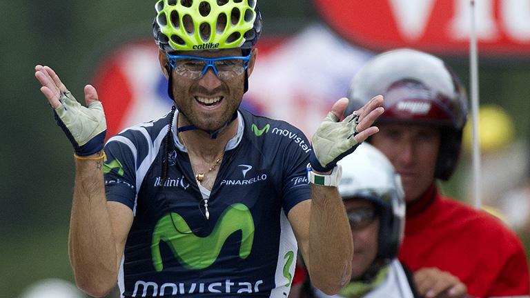 Valverde suma la segunda victoria española