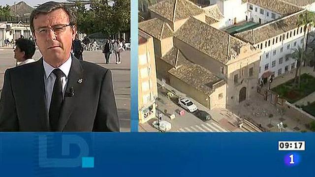 """El teniente alcalde: """"Lorca se nos ha caído, la vamos a levantar"""""""