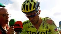 Ir al VideoVan Genechten triunfa en Puebla de Sanabria y Contador se va al suelo