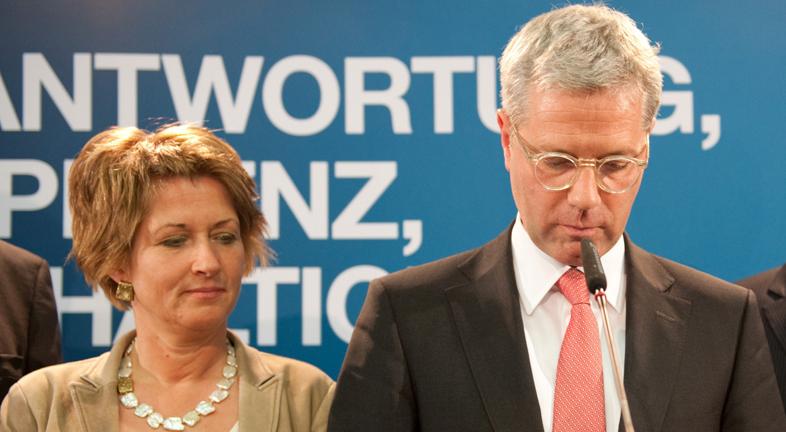 Varapalo electoral del partido de Angela Merkel (CDU) en Renania del Norte-Westfalia