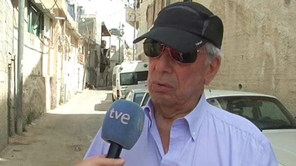 Vargas Llosa viaja a Israel y los Territorios Ocupados para preparar un libro sobre los 50 años de la ocupación israelí