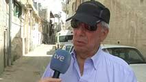 Ir al VideoVargas Llosa viaja a Israel y los Territorios Ocupados para preparar un libro sobre los 50 años de la ocupación israelí