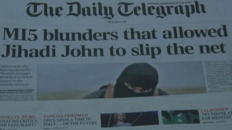 """Varios medios tratan de dibujar el perfil psicológico del """"yihadista John"""""""