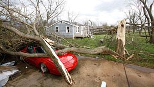 Varios muertos a causa de los tornados en EE.UU.