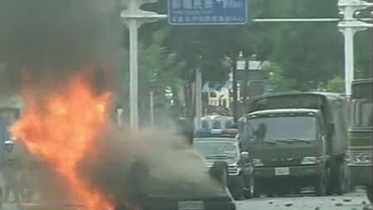Veinte muertos en enfrentamientos en la conflictiva provincia china de Xinjiang