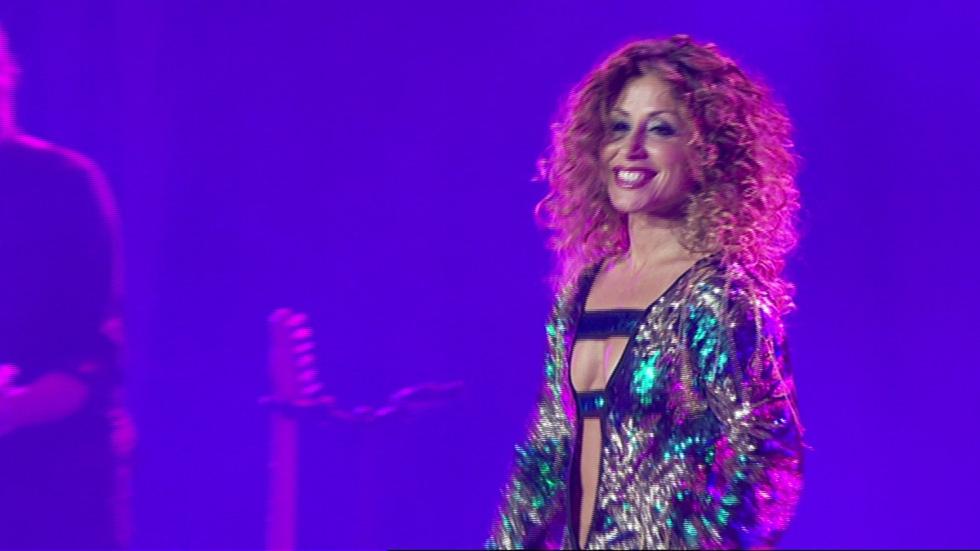 OT. El reencuentro - Verónica canta 'Bésame' en el concierto de OT