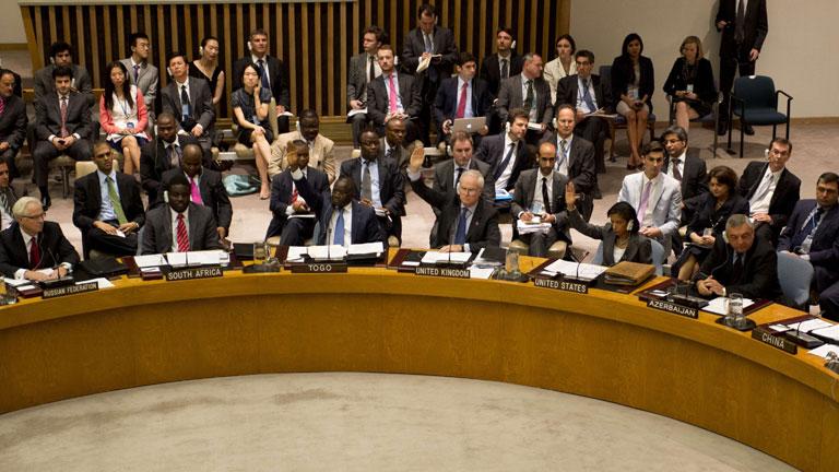 Rusia y China vetan por tercera vez la resolución del Consejo de Seguridad sobre Siria