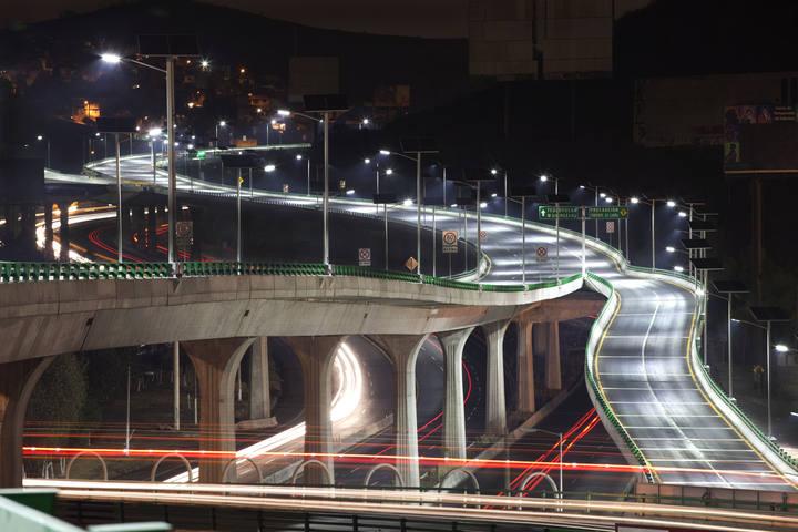 Viaducto del Bicentenario construido por OHL en México D.F.