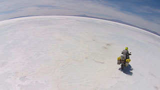 El viaje filmado con drones más largo hasta la fecha