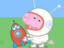 Imagen del  vídeo de Peppa Pig titulado VIAJE A LA LUNA