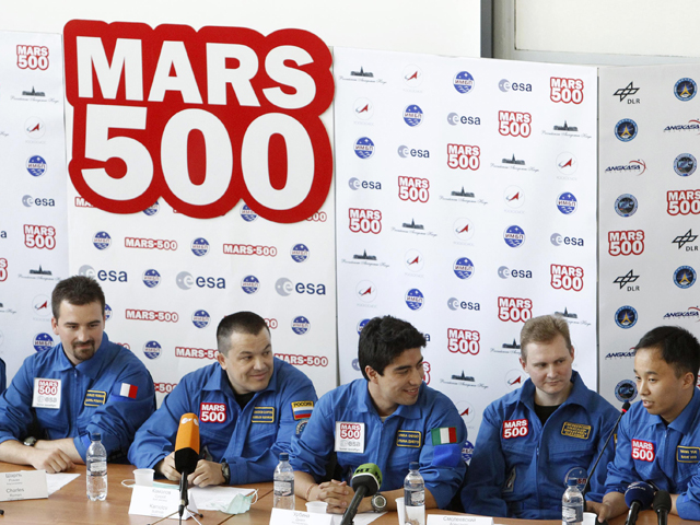 En Moscú, ha comenzado un viaje simulado a Marte