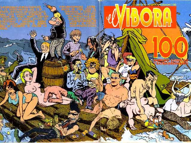 'El Víbora', 25 años de cómic mordaz