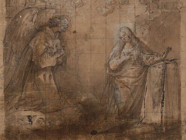 """Vicente Carducho, """"Anunciación"""""""