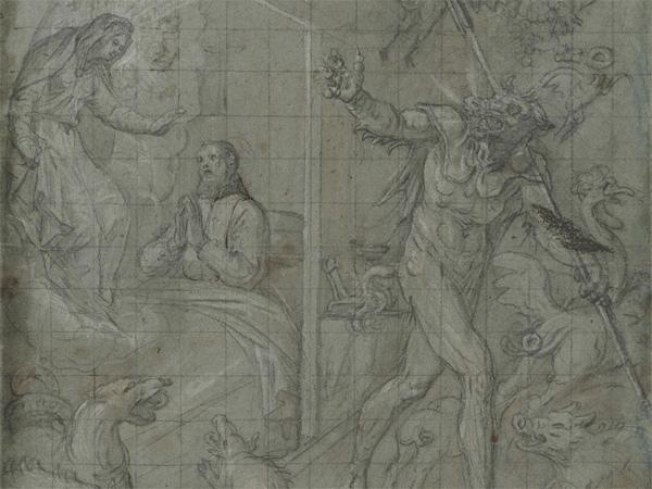 """Vicente Carducho, """"Aparición de la Virgen"""""""