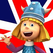 Vicky el vikingo en inglés
