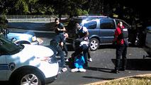 Ir al VideoUn vídeo muestra el momento del tiroteo en Charlotte
