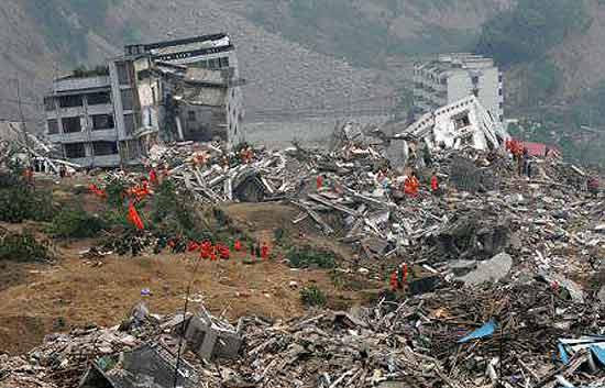 Un videoaficionado graba el terremoto en Haiti