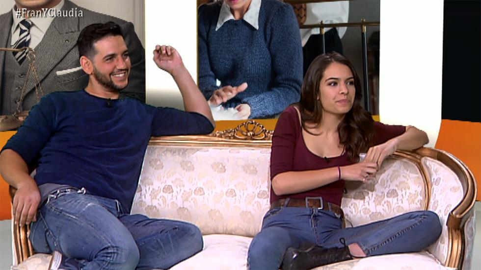 """La sonata del silencio - Fran Perea y Claudia Traisac: """"Rodar fue duro y divertido a la vez"""""""