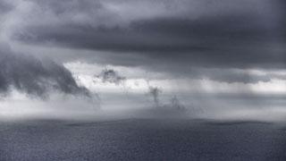 Viento fuerte en el litoral de Galicia, Pirineos y Canarias