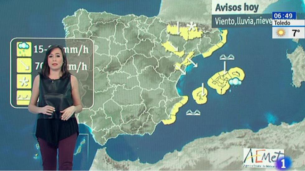 Viento fuerte en el litoral de galicia pirineos y menorca - El tiempo en el valles oriental ...