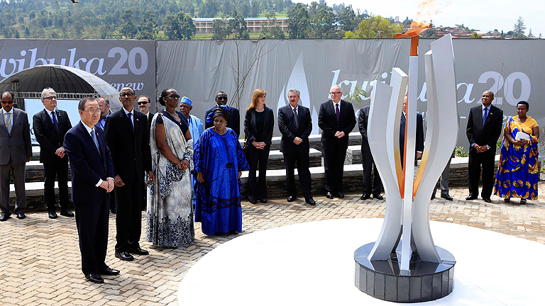 El presidente ruandés acusa a Francia de estar detrás del genocidio