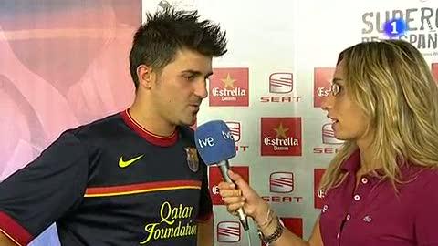 """Villa: """"Es la primera copa, hay que seguir así"""""""