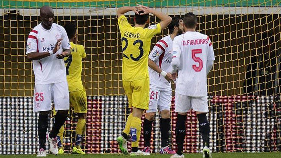 Villarreal 0 - Sevilla 2