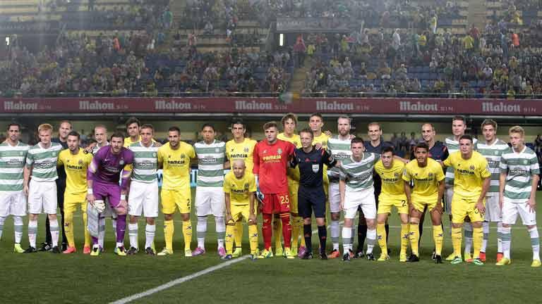 Villarreal y Celtic de Glasgow, unidos por la esperanza
