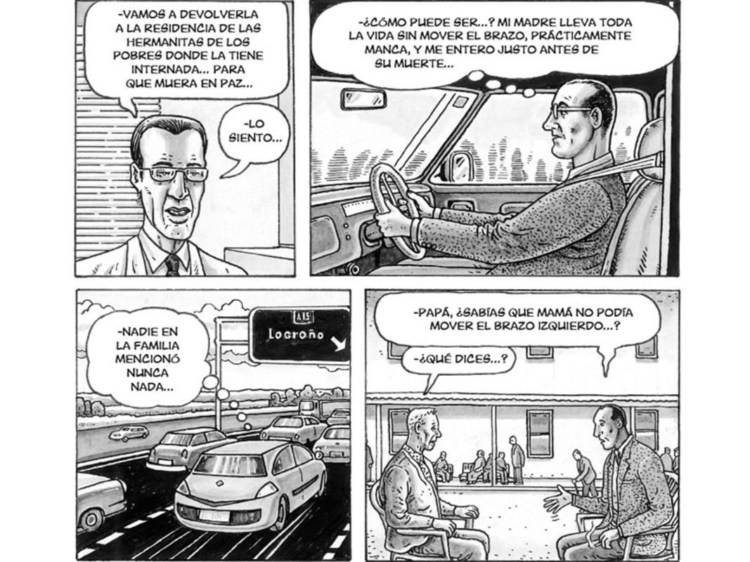 Viñetas de 'El ala rota'