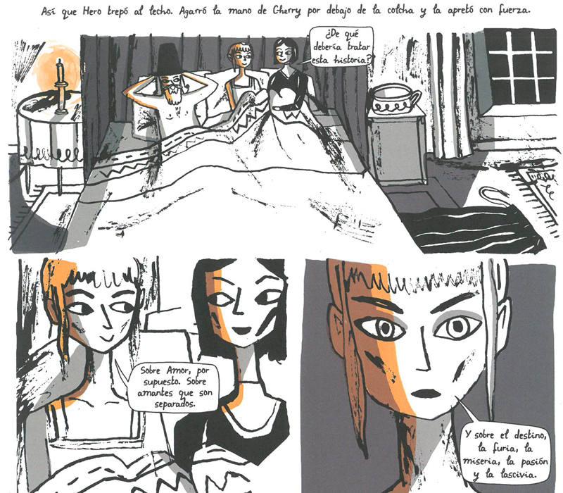 Viñetas de 'Las cien noches de Hero'