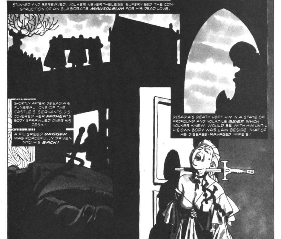 Viñetas de un cómic de Alex Toth