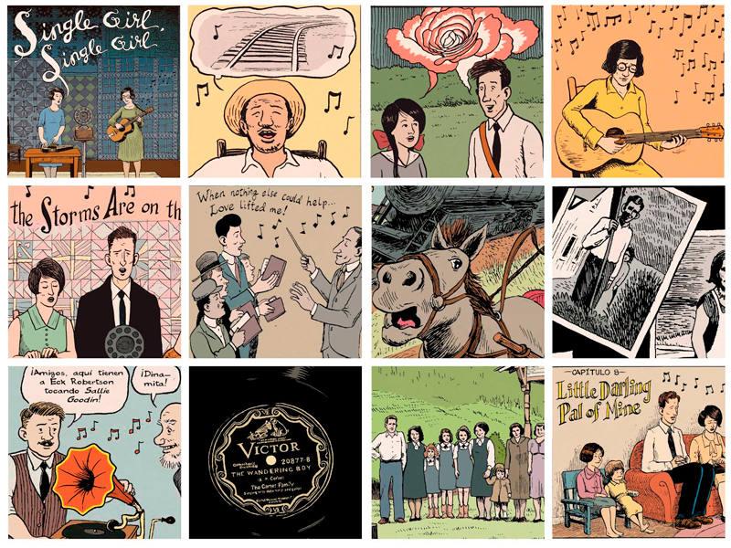 Viñetas de 'La Familia Carter'