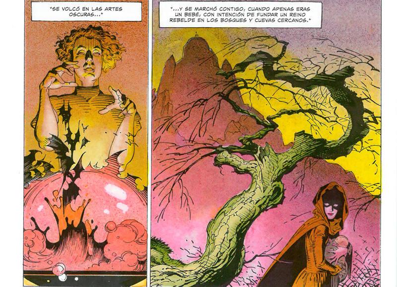 Viñetas de 'La flauta mágica'