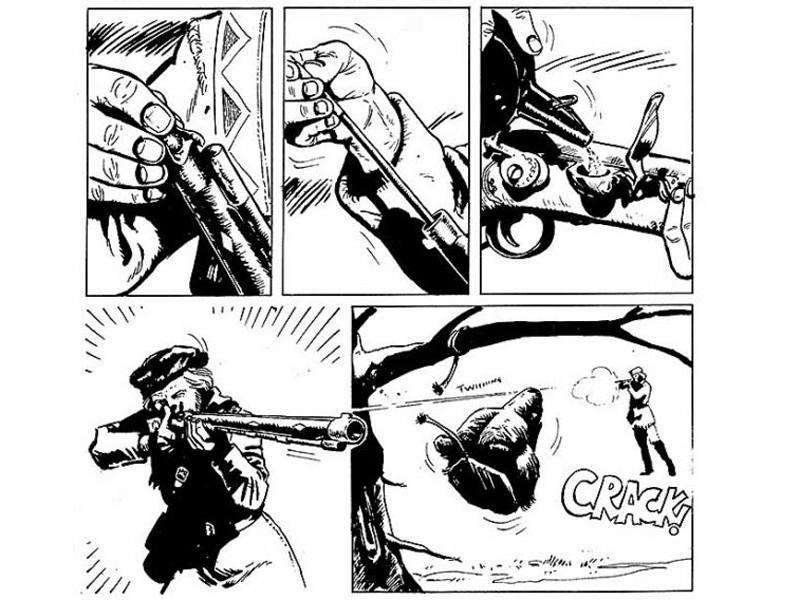 Viñetas de 'Ken Parker'