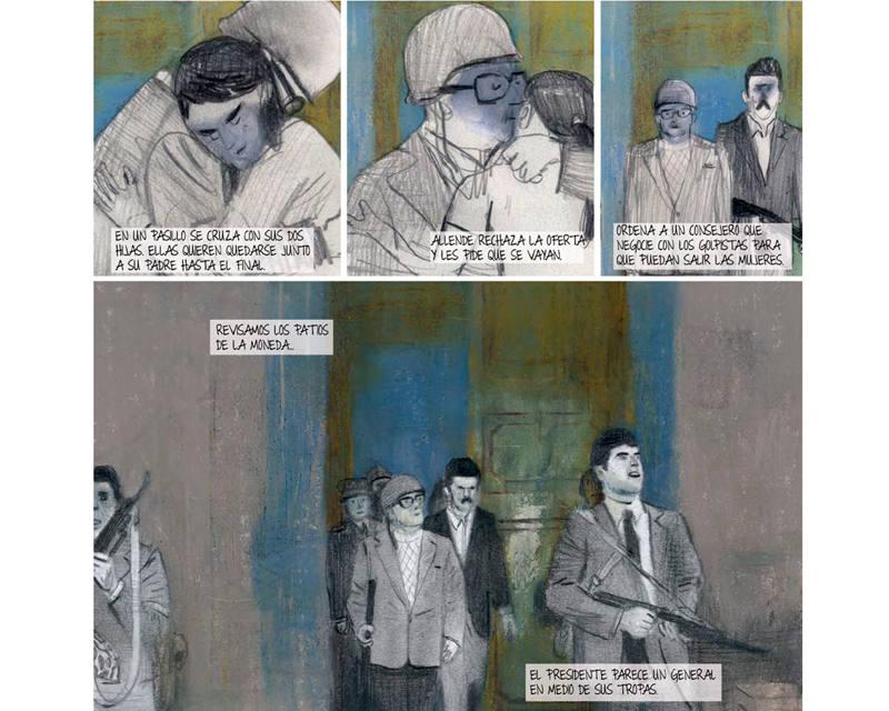 Viñetas de ¡Maldito Allende!
