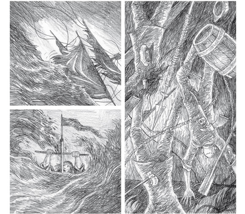 Viñetas de 'Moby Dick'