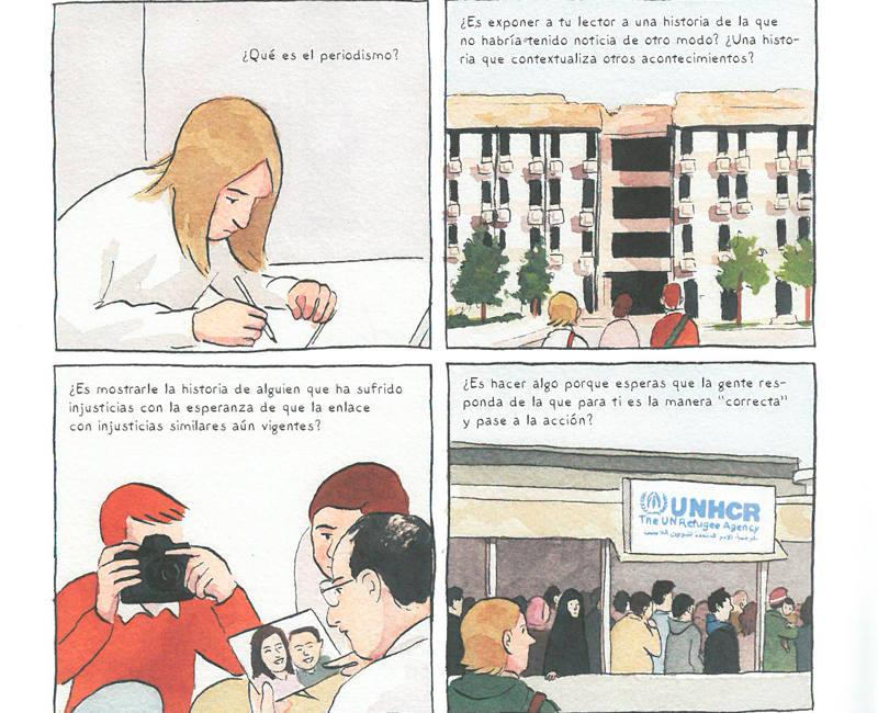 Viñetas de 'Oscuridades programadas'