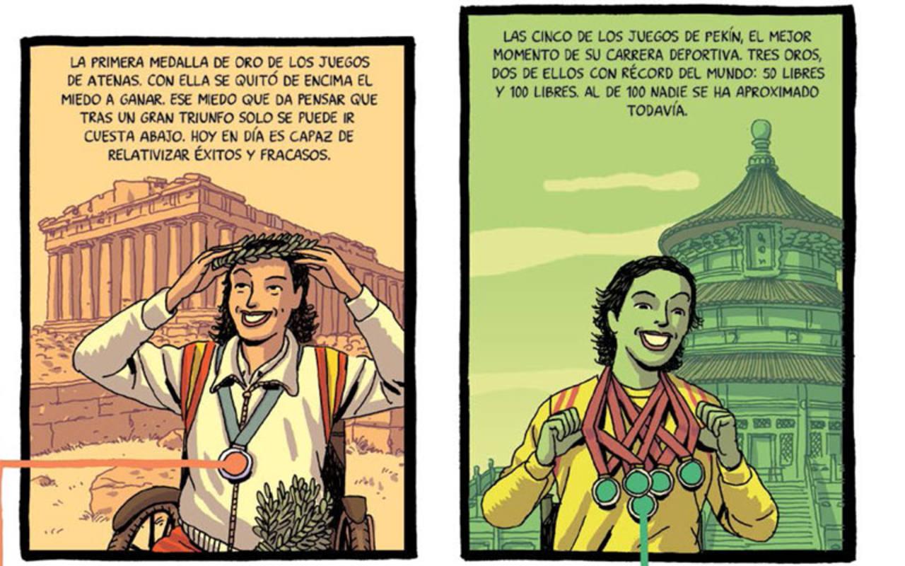 Viñetas de Paco Roca para 'Teresa Perales Cómics'
