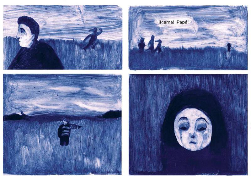Viñetas de 'Refugiada'