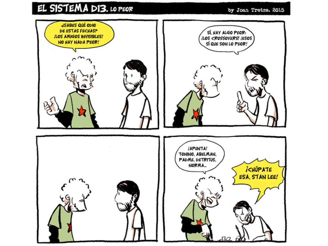 Viñetas de 'El sistema D13'