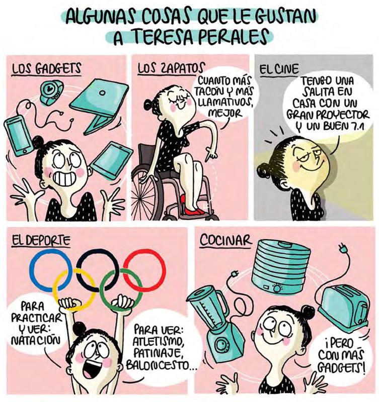 Viñetas de 'Teresa Perales Cómics', de Agustina Guerrero