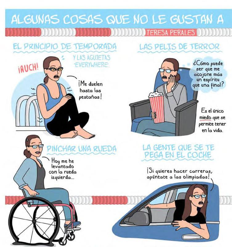 Viñetas de 'Teresa Perales Cómics', de Moderna de Pueblo