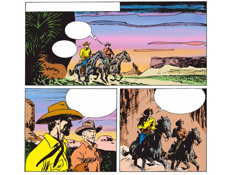 Viñetas de 'Tex: El hombre de Atlanta'