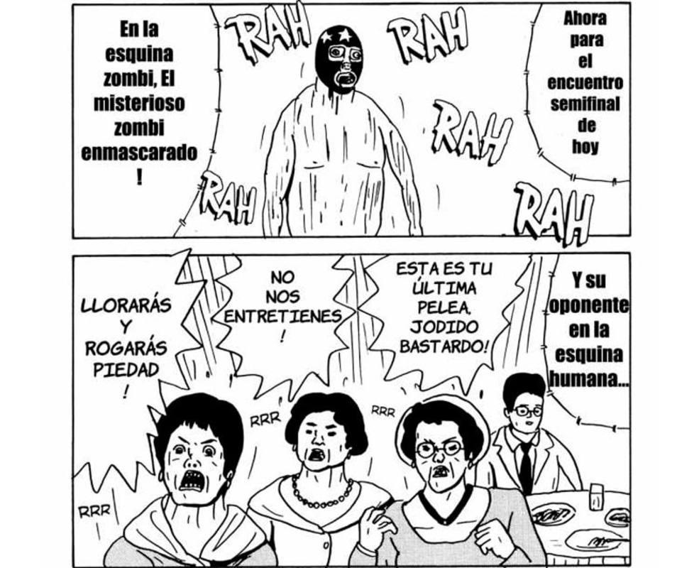 Viñetas de 'Tokyo Zombie'