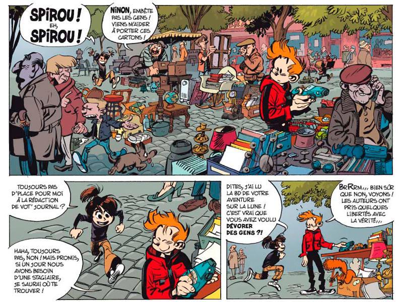 Viñetas de 'La trampa viperina'
