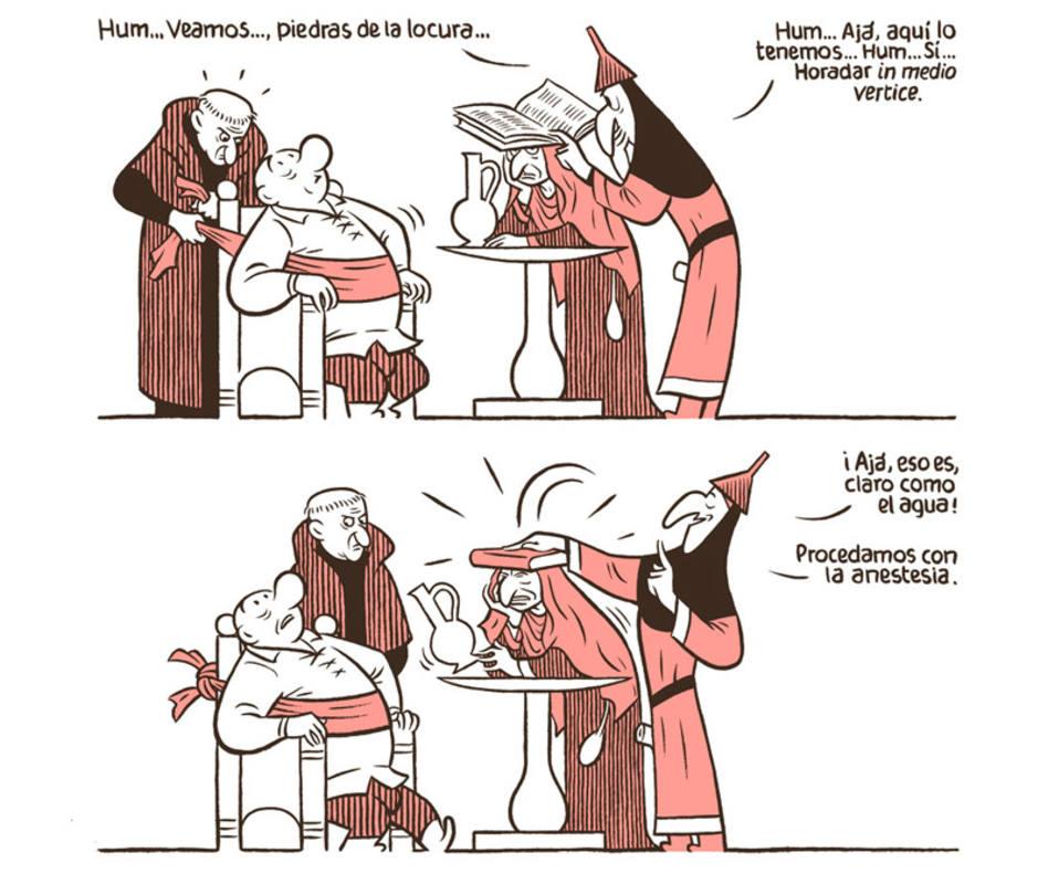 Viñetas de 'El tríptico de los encantados (Una pantomima bosquiana)'