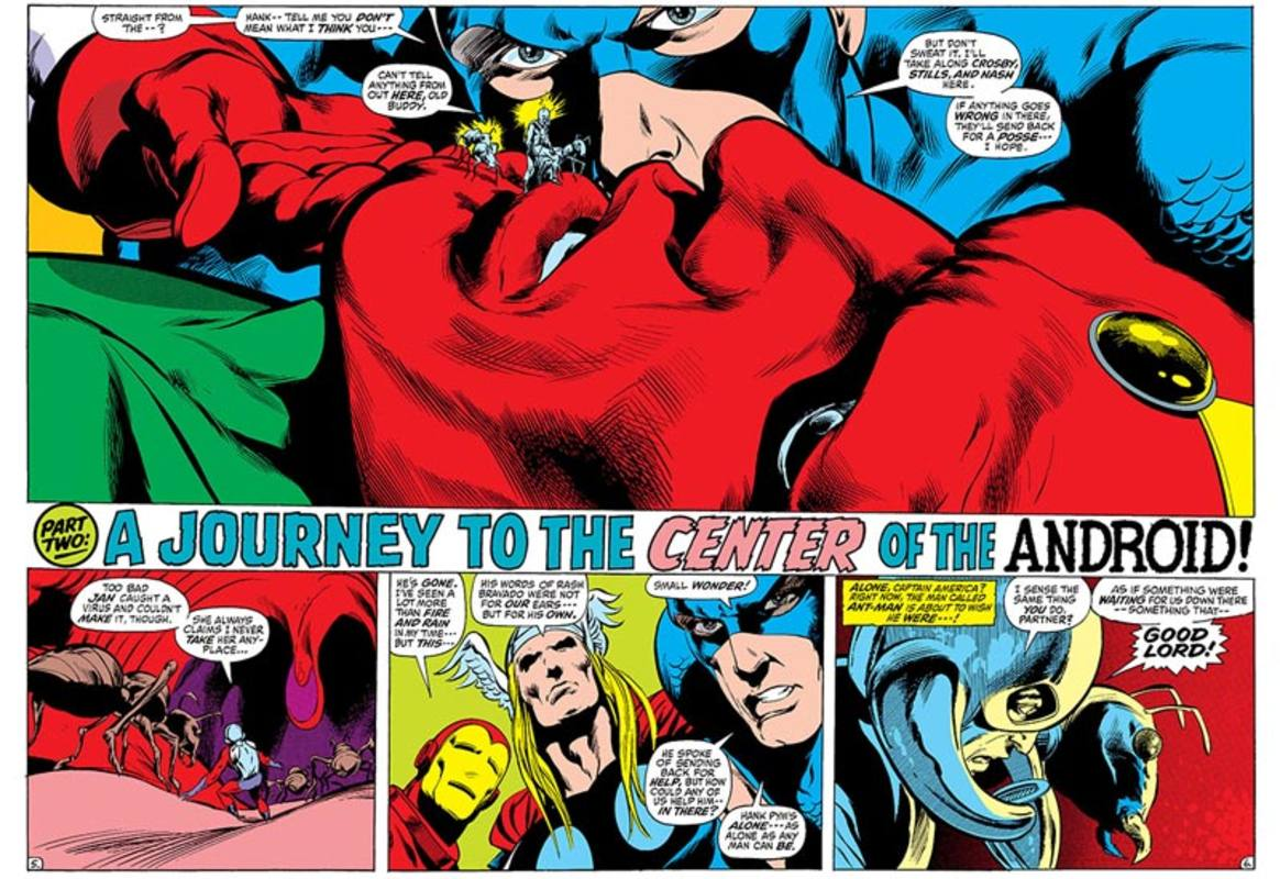 Viñetas de Vengadores: La guerra Kree-Skrull